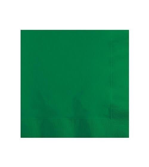 Cocktail-Servietten - emerald green - 50 Stück