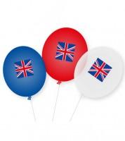 "Luftballons ""Großbritannien"" -  9 Stück"