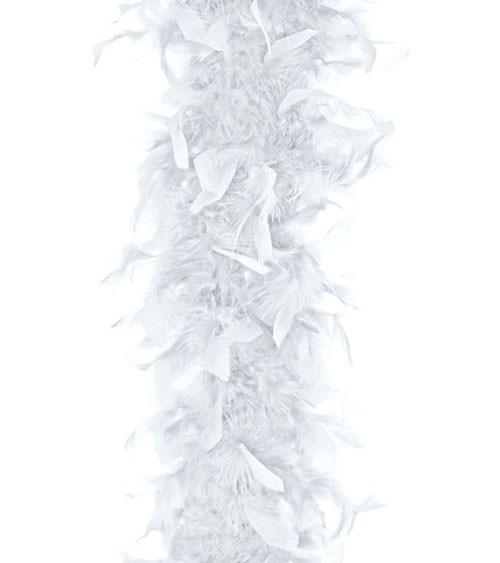 Federboa - weiß - 1,8 m