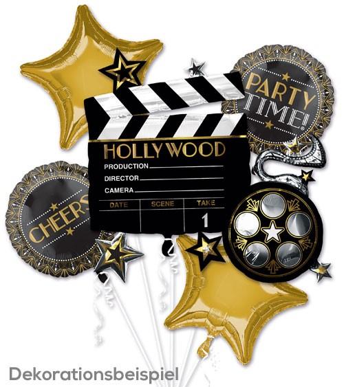 "Folienballon-Set ""20er Jahre"" - Hollywood - 5-teilig"