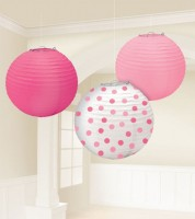 "Lampion-Set ""Girl"" - 3-teilig - 24 cm"