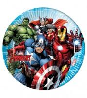 """Pappteller """"Mighty Avengers"""" - 8 Stück"""