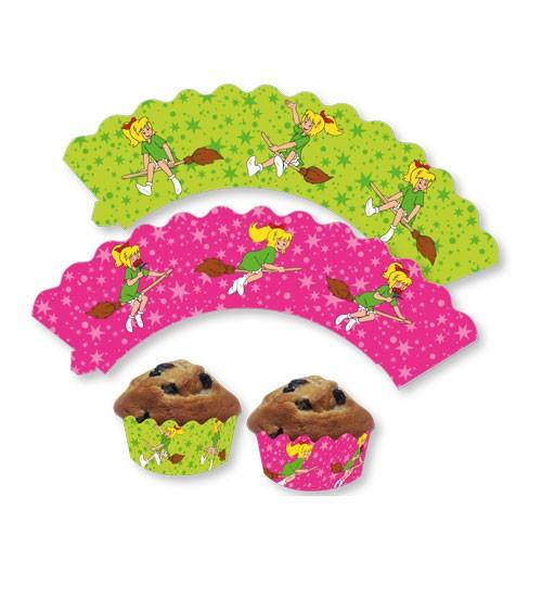 """Cupcake-Wrapper """"Bibi Blocksberg"""" - 12 Stück"""