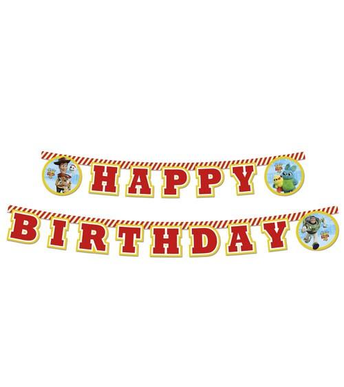 """Happy Birthday-Girlande """"Toy Story 4"""" - 2 m"""