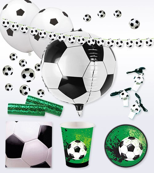 "Deko-Set ""Fußball-Party"" - 57-teilig"