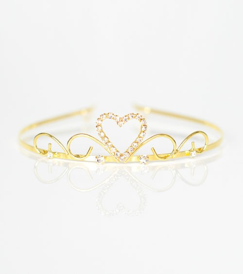 "Diadem ""Sweetheart"" - gold"