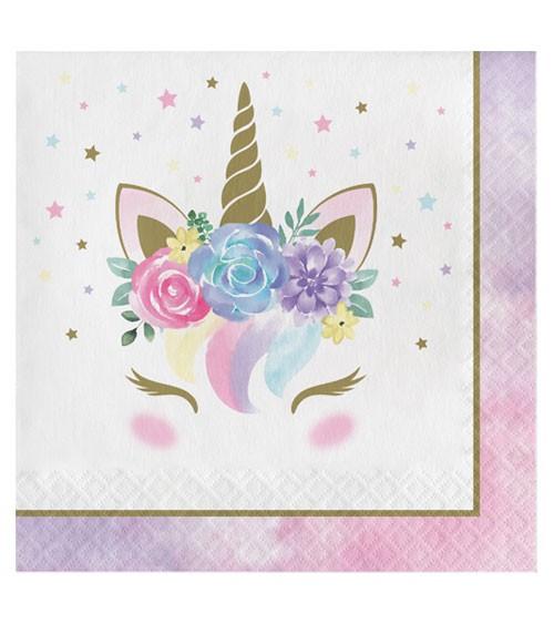 """Servietten """"Unicorn"""" - 16 Stück"""