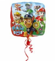 "Eckiger Folienballon ""Paw Patrol"""