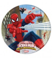 "Pappteller ""Ultimate Spiderman - Web Warriors"" - 8 Stück"