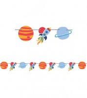 """Motivgirlande """"Outer Space"""" - 1,52 m"""