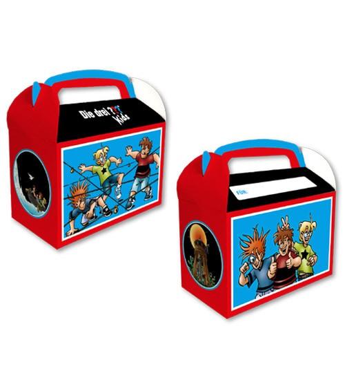 """Geschenkeboxen """"Die drei Fragezeichen Kids"""" - 8 Stück"""