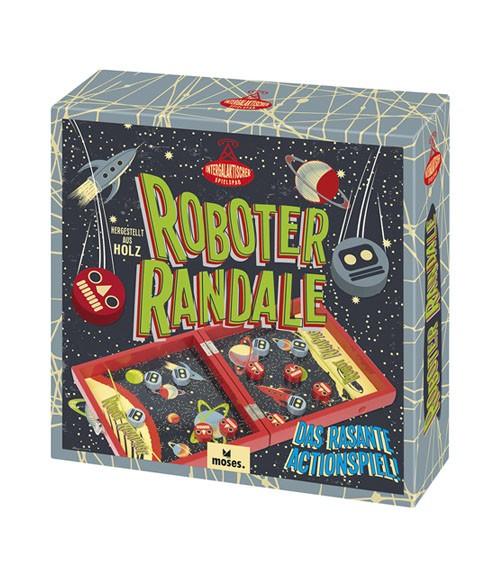 """Holzspiel """"Roboter Randale"""""""