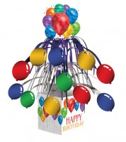 "Aufsteller ""Bunte Ballons"" - Happy Birthday"