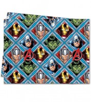 """Kunststoff-Tischdecke """"Mighty Avengers"""" - 120 x 180 cm"""