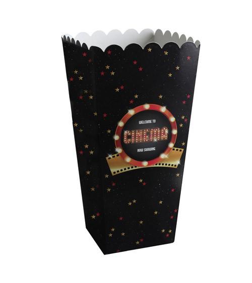 "Popcorn-Boxen ""Cinema"" - 8 Stück"