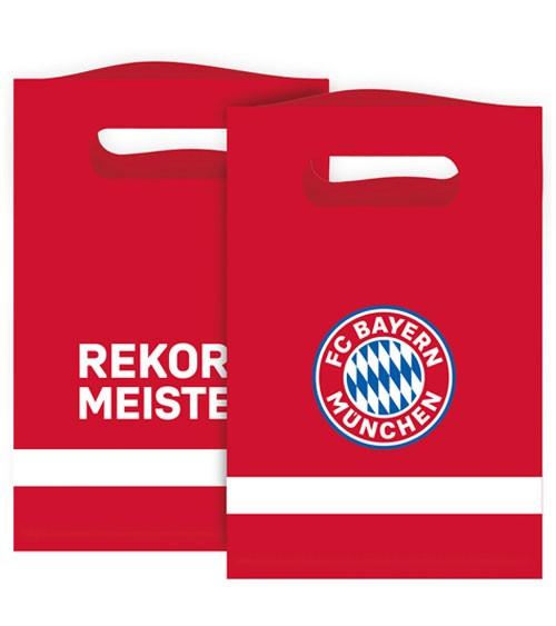 """Partytüten aus Papier """"FC Bayern München"""" - 8 Stück"""