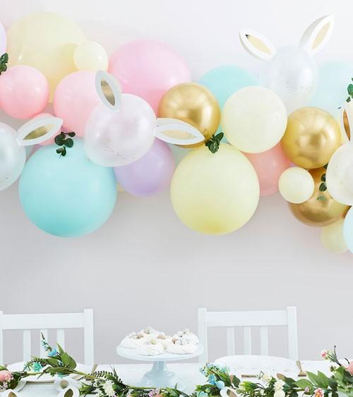 "DIY Ballongirlande ""Pastel Easter Bunny"" - 65-teilig"