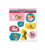 """Sticker """"Bibi und Tina"""" - 1 Bogen"""