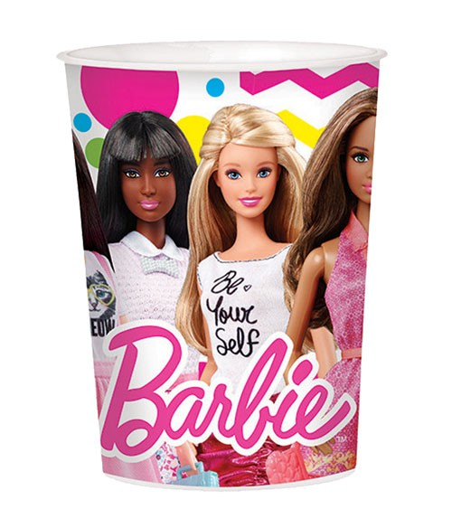 "Plastikbecher ""Barbie"""