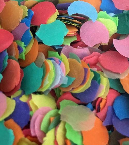 Papierkonfetti - 100 g - bunt