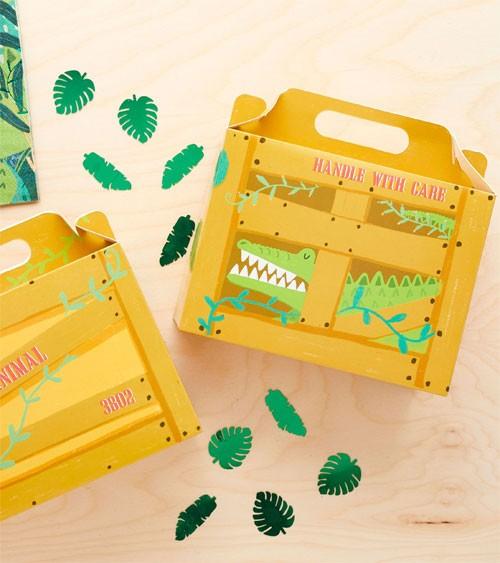 """Lunchboxen """"Krokodil"""" - 5 Stück"""