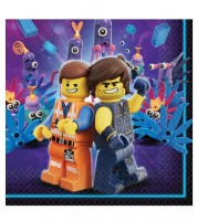 "Servietten ""Lego Movie 2"" - 16 Stück"