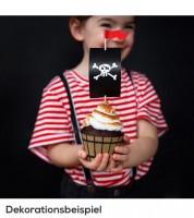 """Cupcake-Deko-Set """"Pirates Party"""" - 12-teilig"""