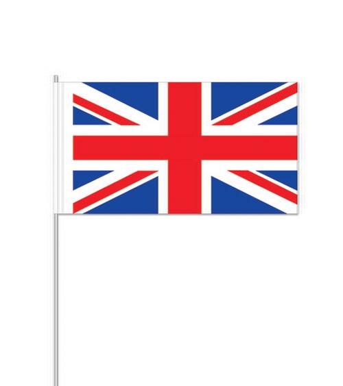 """Papierflaggen """"Großbritannien"""" - 10 Stück"""