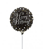 "Mini-Folienballon ""Sparkling Celebration"" - 23 cm"