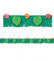 """Fransen-Banner mit Palmenblättern """"Tropical"""" - 178 cm"""