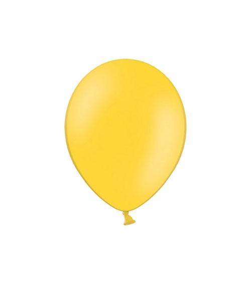 Mini-Luftballons - honiggelb - 12 cm - 100 Stück