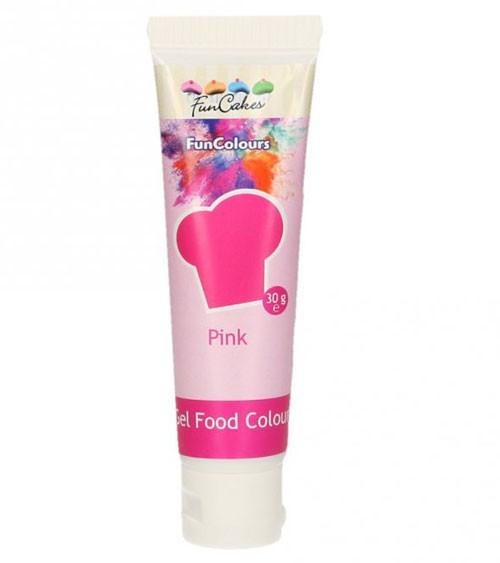 FunCakes Colour-Gel - pink - 30 g