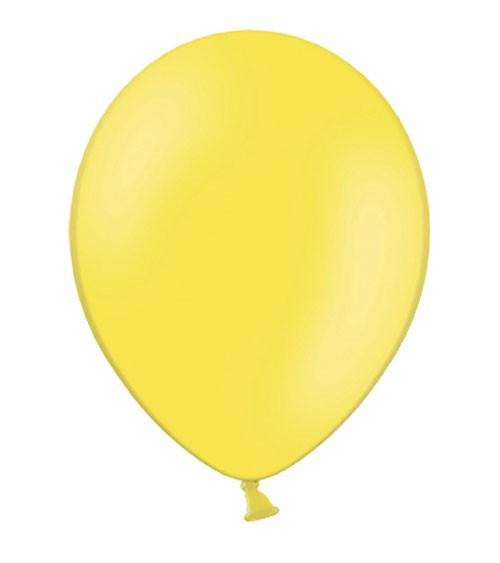 Standard-Luftballons - limonengelb - 50 Stück