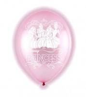"LED-Luftballons ""Disney Prinzessinnen"" - rosa - 27,5 cm - 5 Stück"