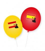 "Luftballons ""Spanien"" - 8 Stück"
