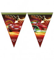 "Wimpelgirlande ""Cars Neon"" - 2,3 m"