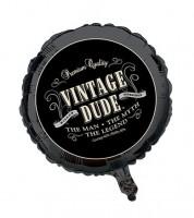 "Folienballon ""Vintage Dude"""