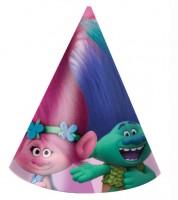 """Partyhüte """"Trolls"""" - 6 Stück"""