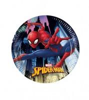 """Pappteller """"Spiderman - Team Up"""" - 8 Stück"""