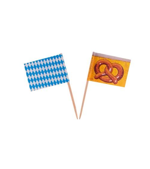"""Party-Picks """"Oktoberfest"""" - 50 Stück"""