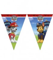 "Wimpelgirlande ""Paw Patrol - Ready for Action"" - 2,3 m"