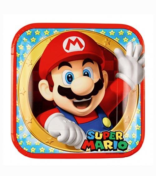"Pappteller ""Nintendo Super Mario"" - 8 Stück"