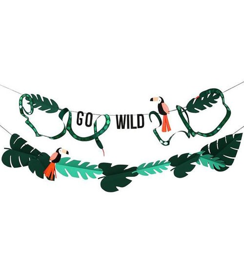 "Girlanden-Set ""Go Wild"" - 2-teilig"