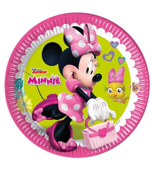 """Pappteller """"Minnie Happy Helpers"""" - 8 Stück"""