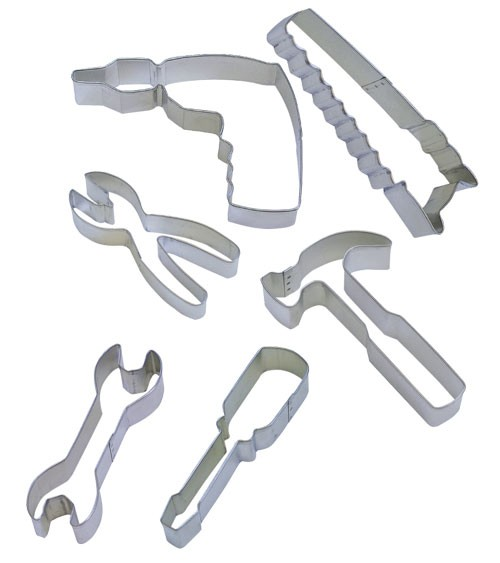 """Ausstechformen-Set """"Werkzeug"""" - 6-teilig"""