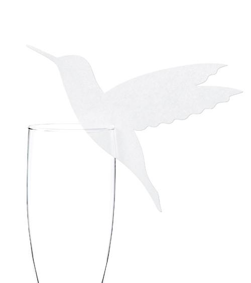 """Glasdekoration """"Kolibri"""" - 10 Stück"""