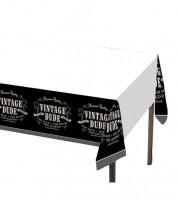 "Kunststoff-Tischdecke ""Vintage Dude"" - 137 x 274 cm"