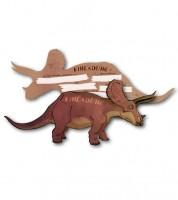 """Einladungskarten """"Triceratops"""" - 6 Stück"""