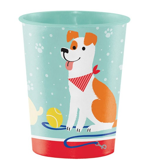 """Plastikbecher """"Hunde-Party"""""""