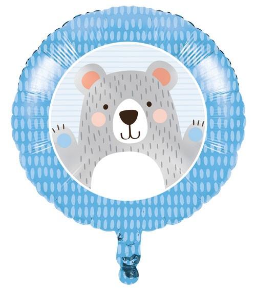 """Runder Folienballon """"Kleiner Bär"""" - 45 cm"""